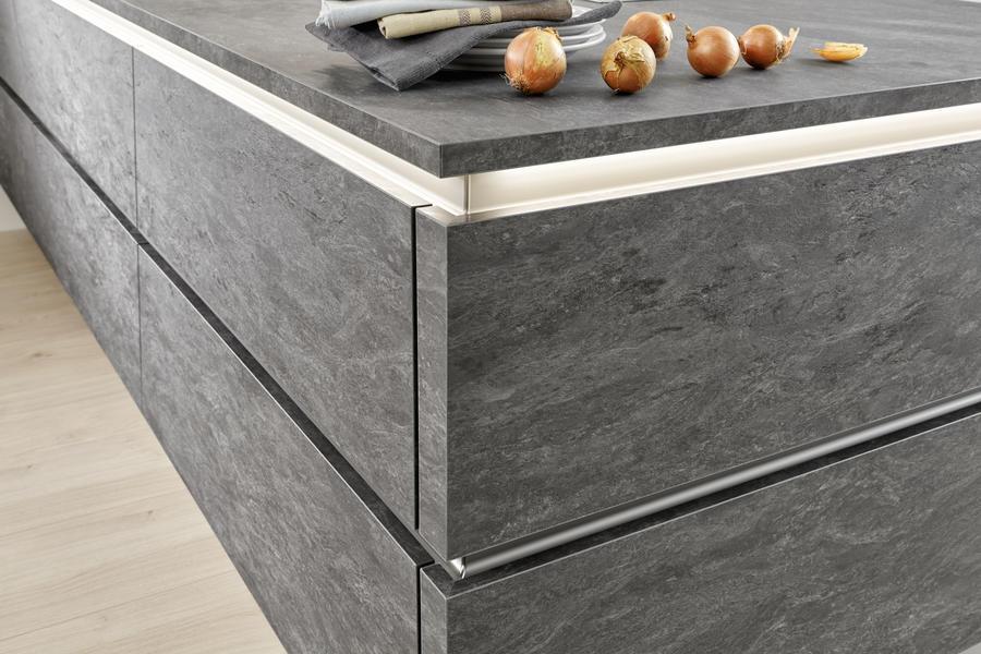 Artwood 22N - Asteiche natur / Stone 262 - Basalt