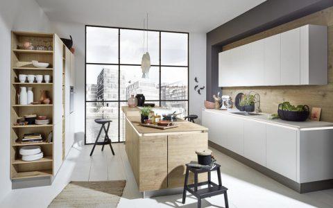 Timber - Steineiche / Feel - Weiß